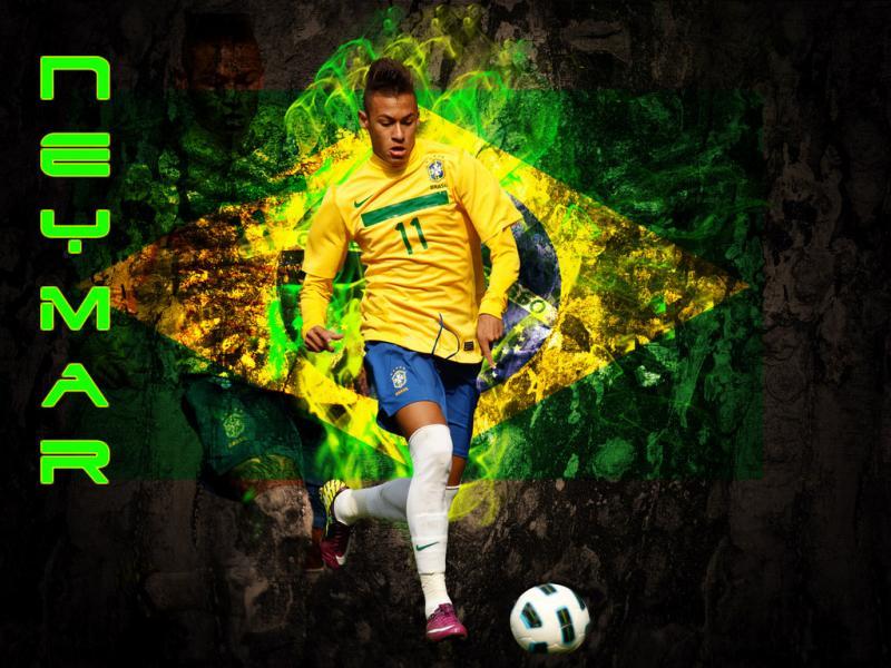 Neymar w Brazyli :)